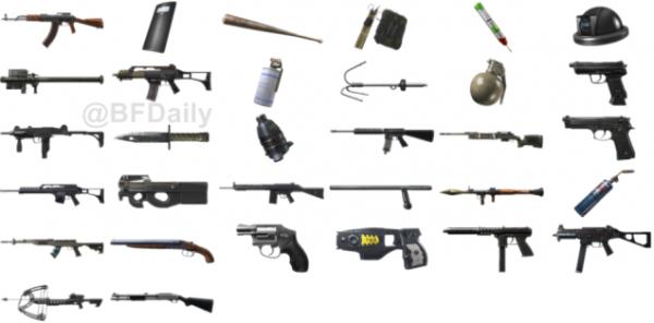 nouveau battlefield armes