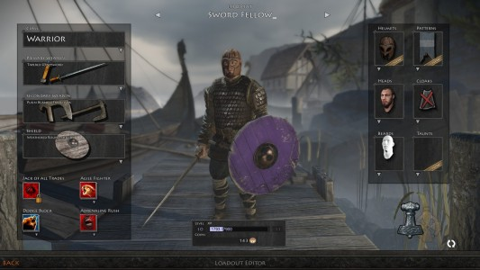 War of the Vikings loadout