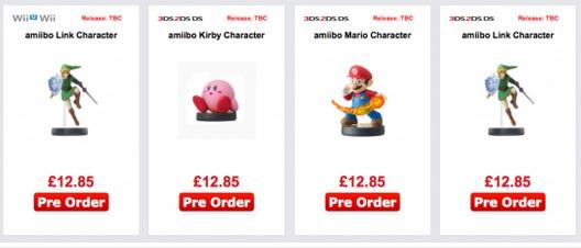 Nintendo : amiibo enfin un tarif