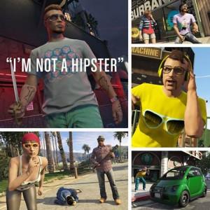 Grand Theft Auto Online : Hipster toi-même débarque