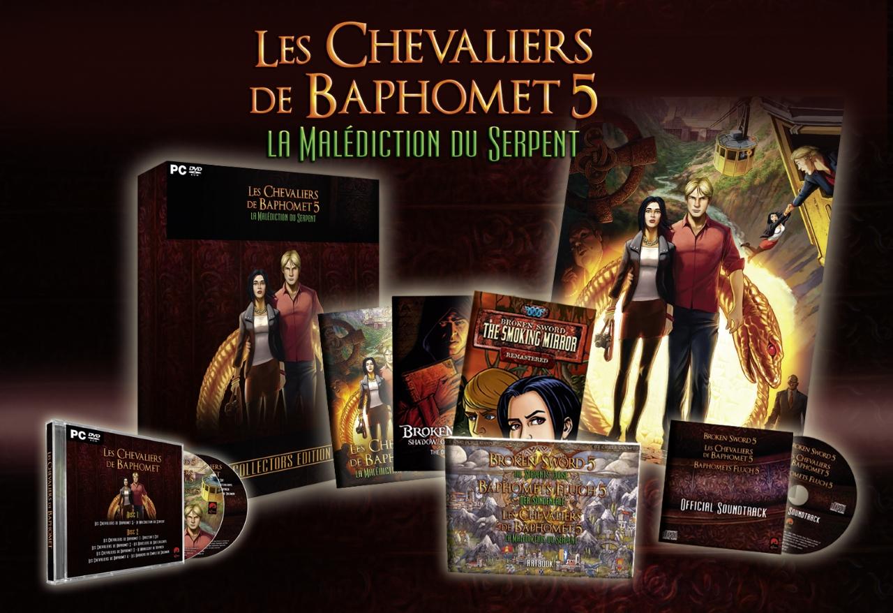 Les Chevaliers de Baphomet 5 arrivent demain !
