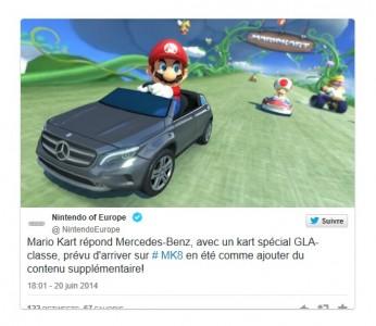 Mario Kart 8 : La Mercedes confirmée
