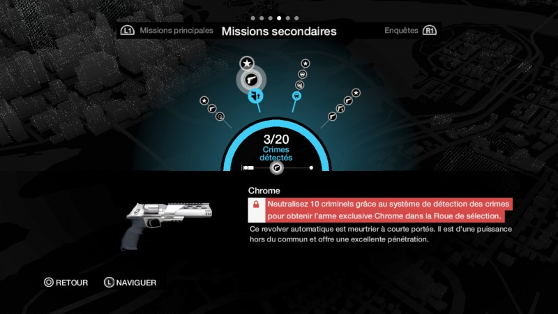 Watch Dogs objectifs secondaires