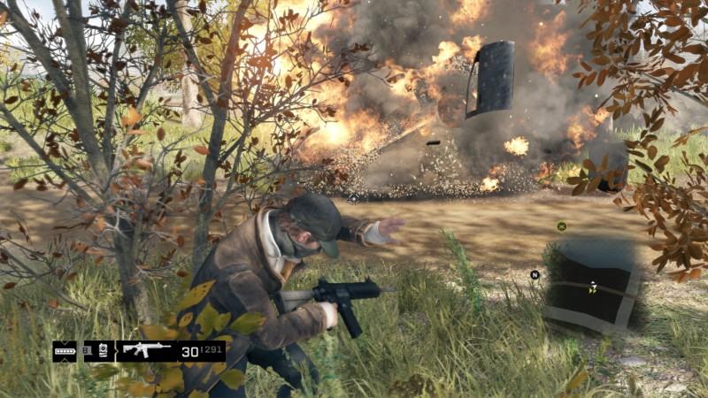 Explosion Aiden Pierce