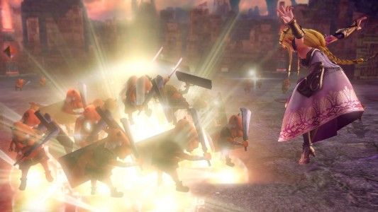 Zelda Hyrule Warriors en action