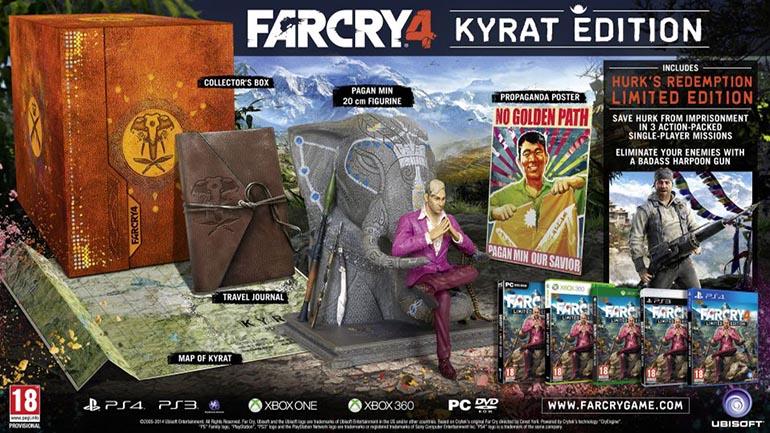 Far Cry 4 Kyrat Edition collector