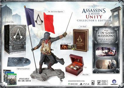 l'édition collector d'Assassin 's Creed Unity