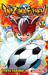 Couverture Manga Inazuma Eleven