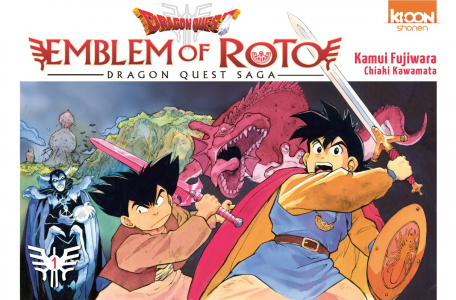 Dragon Quest _ Emblem of Roto Tome 1