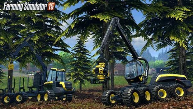 Farming simulator 15 sylviculture