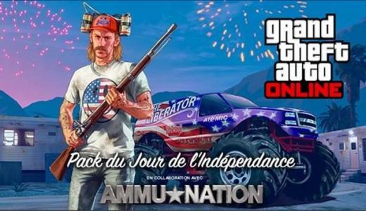 Grand Theft Auto Online : le Jour de l'Indépendance et son contenu