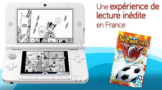 Inazuma Eleven Manga 3DS