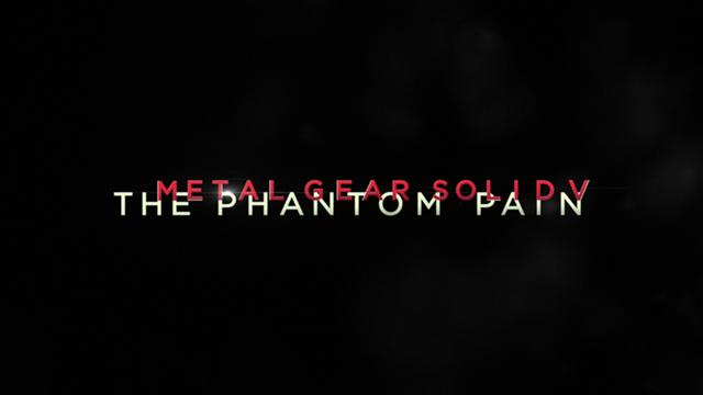 Métal Gear Solid V: The Phantom Pain