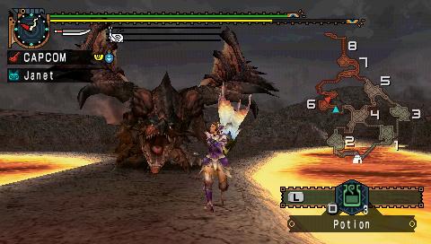Monster Hunter Freedom Unite IOS LightninGamer