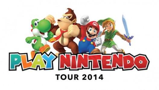 Nintendo la tournée 2014 en images