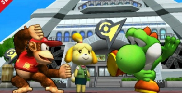 Super Smash Bros 4 3DS
