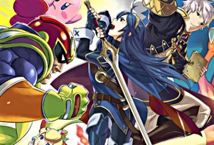 Super Smash Bros. for Wii U/3DS étoffe à nouveau son casting