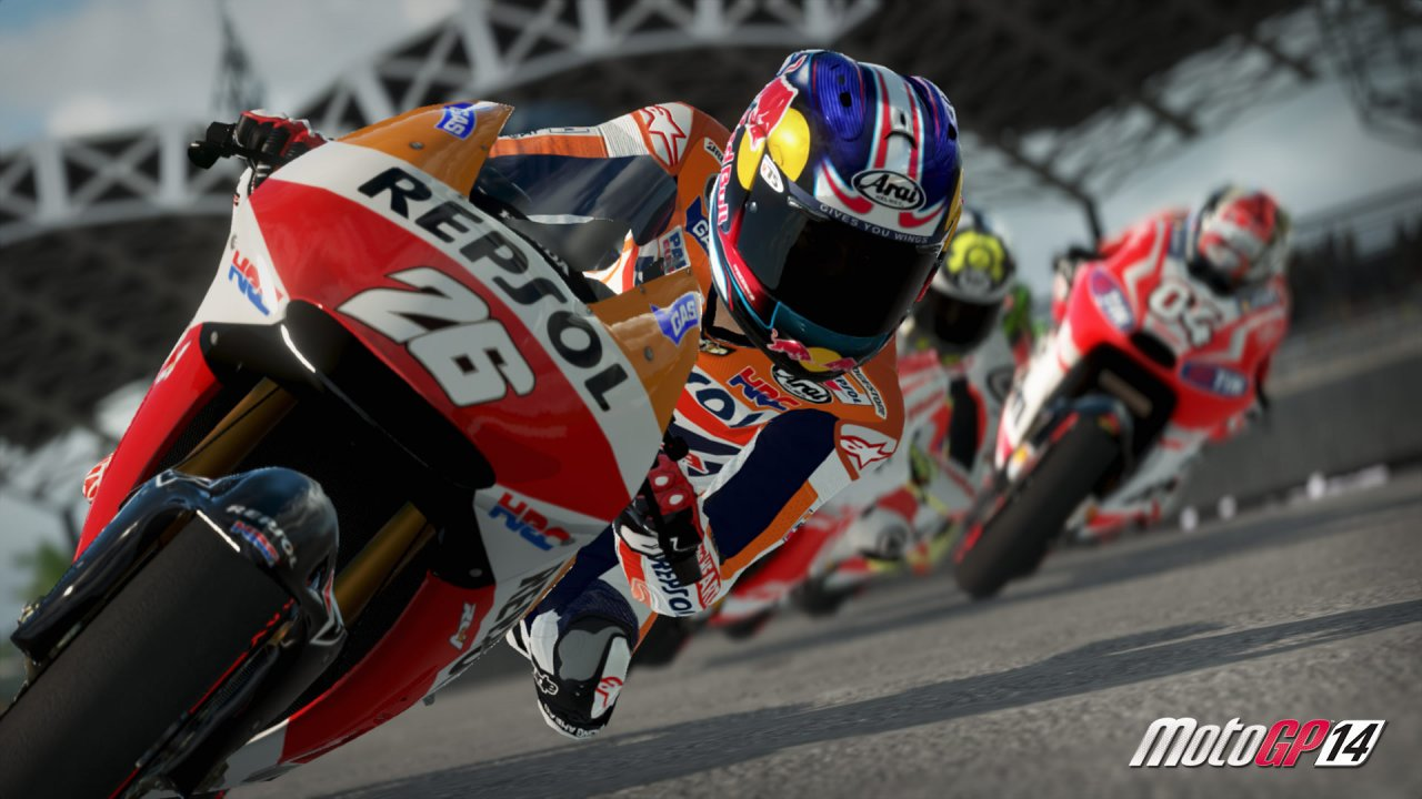MotoGP 14 image production