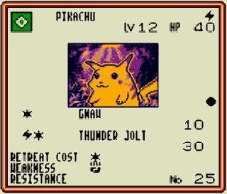 Pokémon Traning Card Game Carte Pikachu