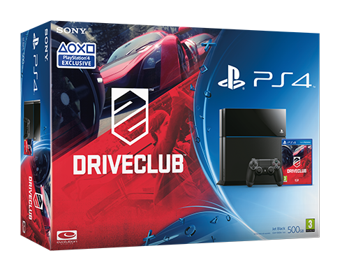 Drive Club : Sony balance son bundle