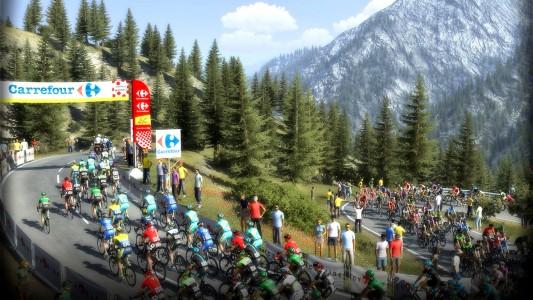 Le paysage de Pro Cycling Manager 2014