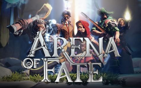 Arena of Fate écran titre et personnages