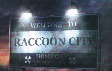 Panneau Welcome Raccoon City