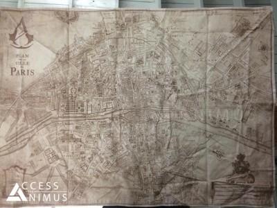 Assassin's Creed Unity : la carte de Paris révélée La map