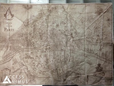 Assassin's Creed Unity : la carte de Paris révélée La map