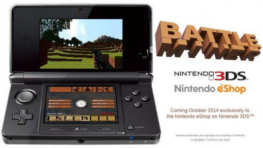 Battle Miner console Nintendo 3DS