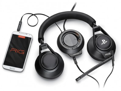 RIG Playstation par Plantronics