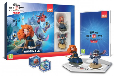 Coffret Disney Infinity 2.0 pack toy box