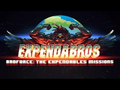 Expandabros écran titre