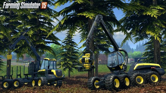Pelleteuse Farming Simulator 15