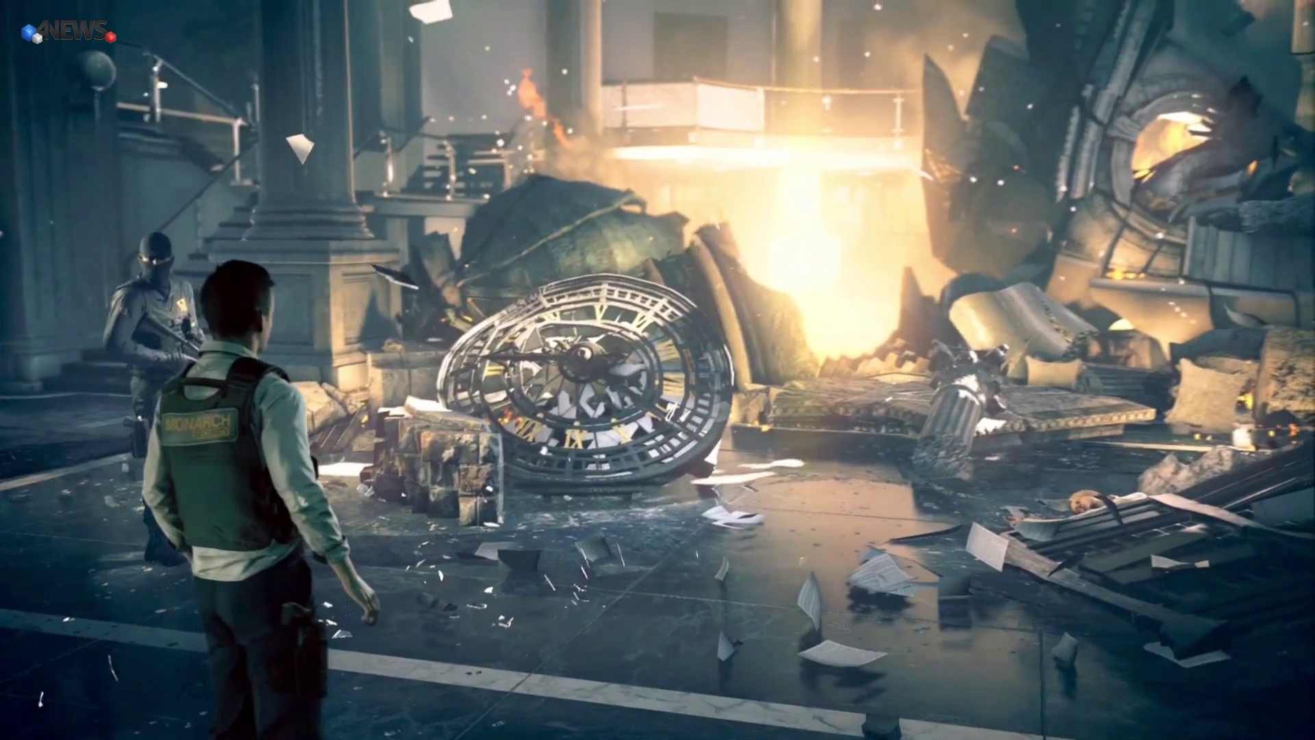 Quantum Break le ruine