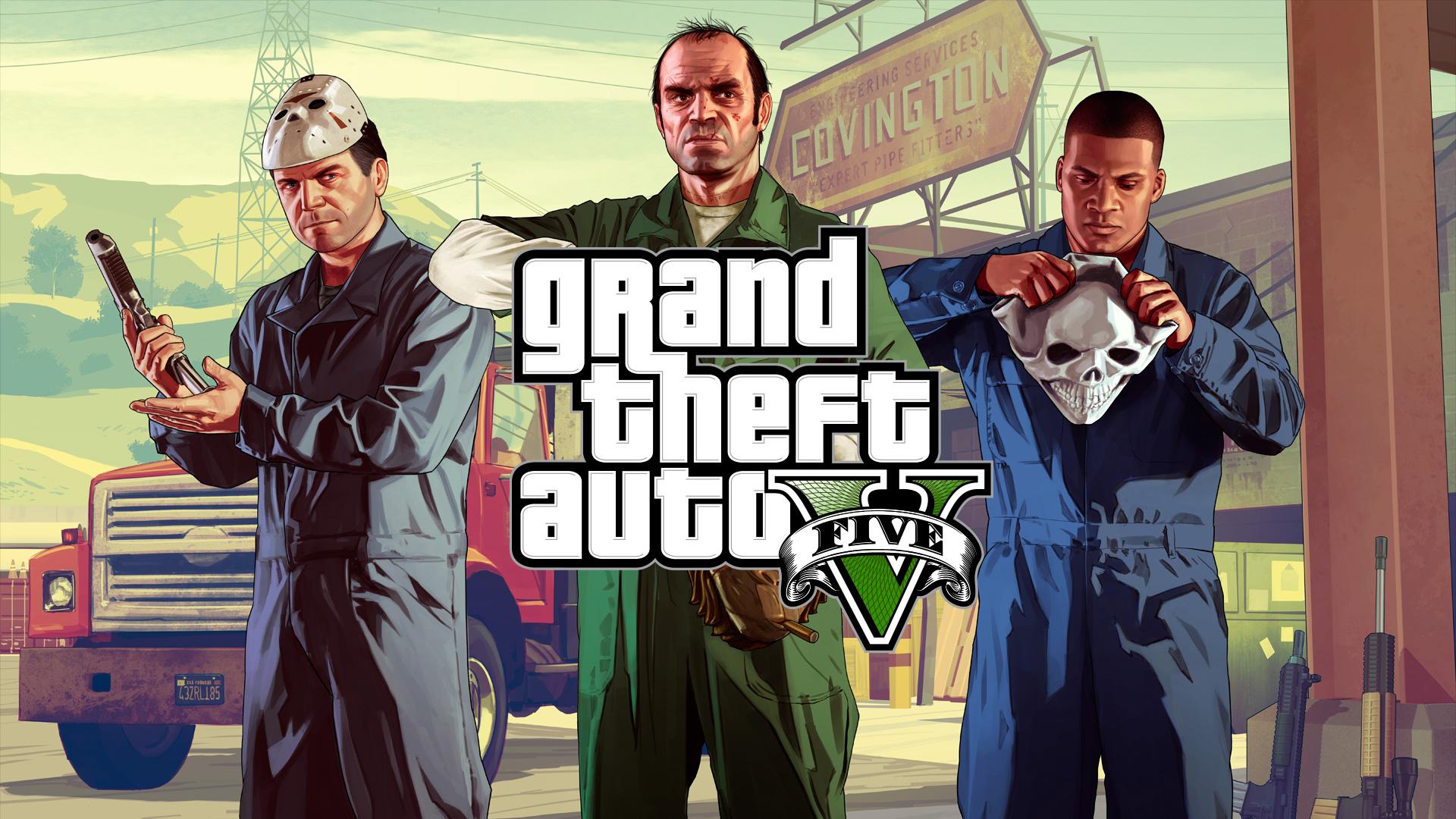 GTA V les trois héros