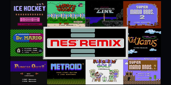 NES Remix titre