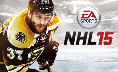 NHL 15 écran titre