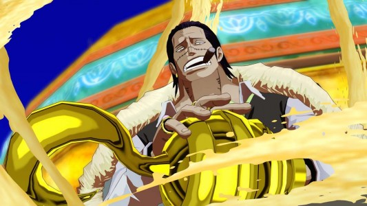 Crocodile dans One Piece Unlimited World Red