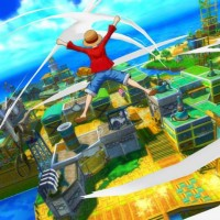Luffy dans One Piece Unlimited World Red