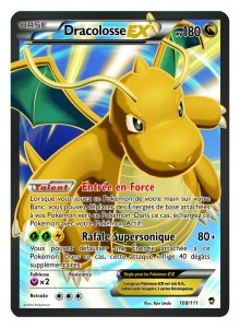Carte Dracolosse EX Poings Furieux