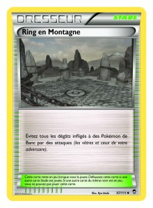 Carte Ring en Montagne Poings Furieux
