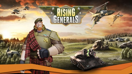 Rising Generals bêta fermée