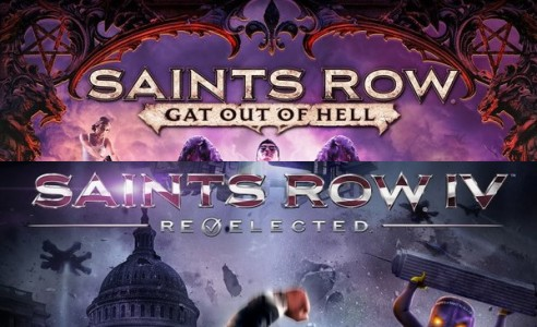 Saints Row IV Re-Elected and Saints Row Gat out of Hell