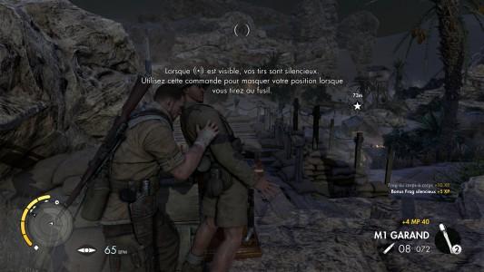 Sniper Elite III corps à corps