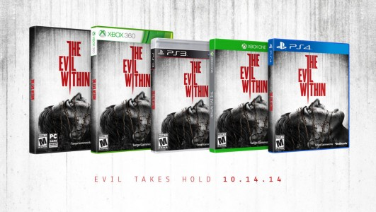 The Evil Within jaquettes