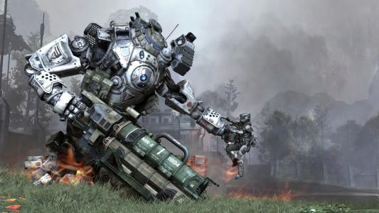 Titanfall combat IMC Rising