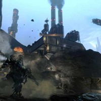 un titan qui court frontier's edge