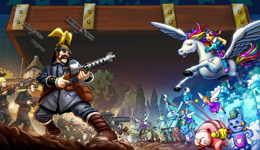 Bataille dans Toy Soldiers War Chest