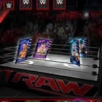 WWE SuperCard attaque à plusieurs carte